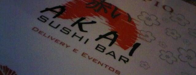 Akai Japanese Food is one of Must go Curitiba.