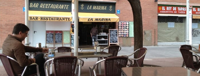 La Marina is one of Lista Cris B..