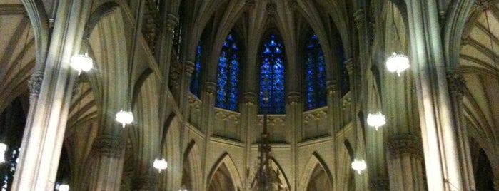 St. Patrick's Cathedral is one of NY To Do.