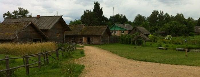 Музей «Пушкинская деревня» is one of สถานที่ที่ Иритка ถูกใจ.