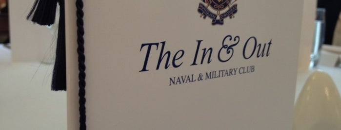 Naval & Military Club is one of London.