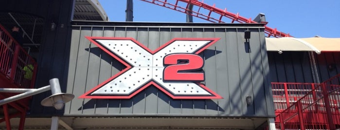 X2 is one of National Rollercoaster Roundup.