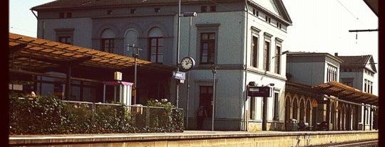 Bahnhof Wunstorf is one of Bahnhöfe besucht !.