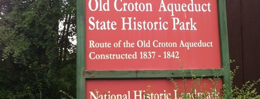 Old Croton Aqueduct is one of Dobbs Ferry Metropolitan Area.