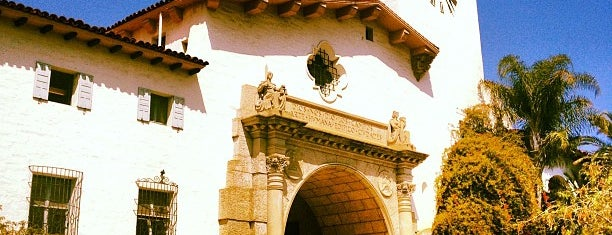 Santa Barbara Courthouse is one of CALiFORNiA.
