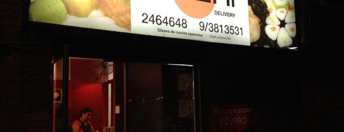 Sensei Sushi is one of Tempat yang Disukai Antonia.