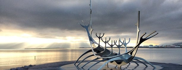 Sólfar / Sun Voyager is one of Islandia 2014.