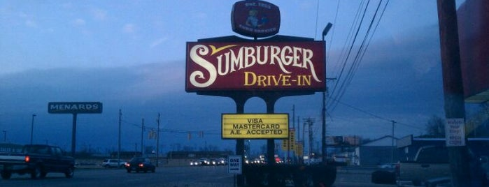 Sumburger is one of ?.