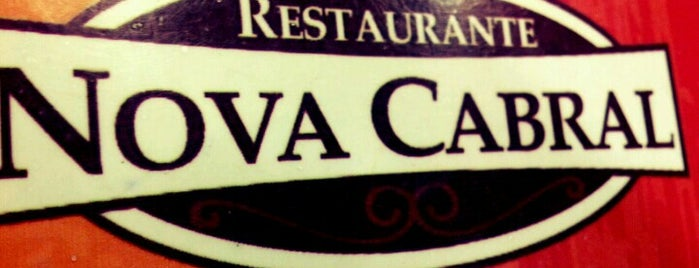 Restaurante Nova Cabral is one of Bares/Pubs.