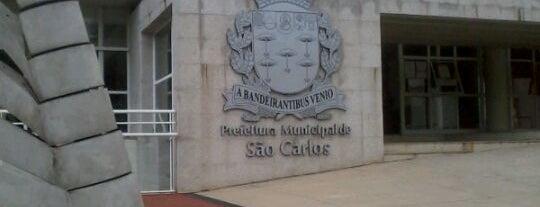 Prefeitura Municipal de São Carlos is one of Importantes.