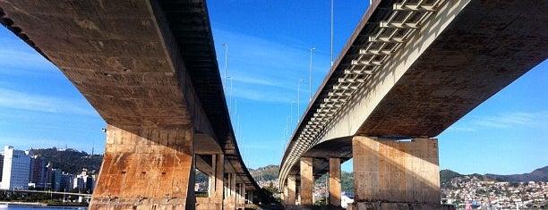 Ponte Colombo Machado Salles is one of Florianópolis's best spots.