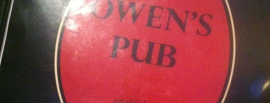 Owen's Pub is one of Locais curtidos por Tracy.