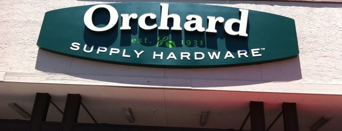 Orchard Supply Hardware is one of Vickyeさんのお気に入りスポット.