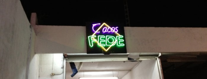 Tacos Fede is one of Locais curtidos por Adiale.