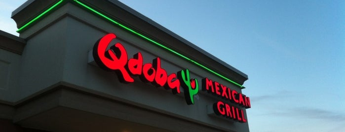 Qdoba Mexican Grill is one of Hot Tamale Badge - Cincinnati Venues.