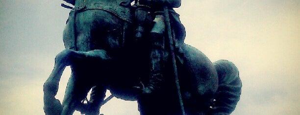 Lieutenant General George Washington Statue is one of DC Metro.