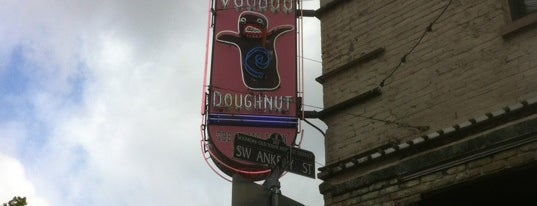 Voodoo Doughnut is one of Gotta Try Donuts!.