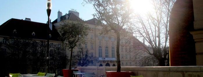 MuseumsQuartier is one of Wien / Vienna.