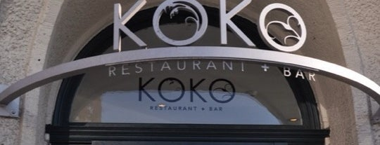 KOKO Restaurant + Bar is one of Bar/Drinks.