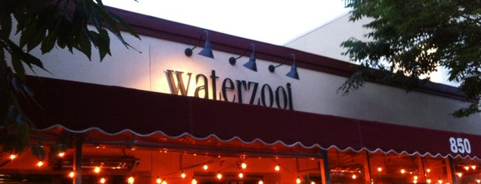 Waterzooi is one of Lugares favoritos de Tim.