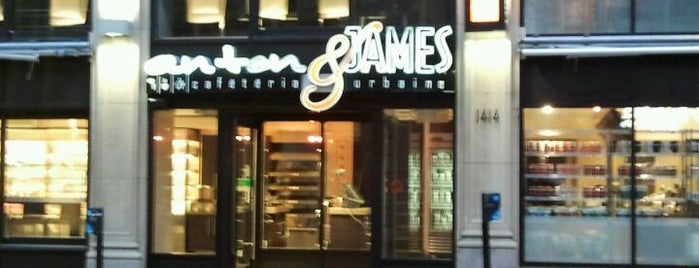 Anton & James is one of The Foodie List (Montreal).