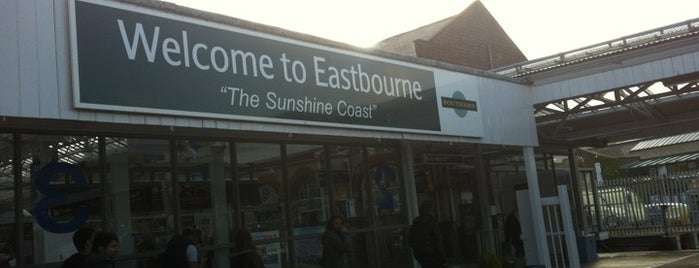 Eastbourne Railway Station (EBN) is one of You calling me a train spotter?.