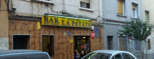 Bar La Patata is one of Tapas in Barcelona.