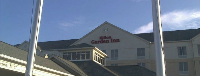 Hilton Garden Inn is one of Lugares favoritos de Gavin.