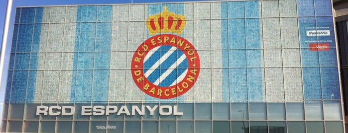 RCDE Stadium is one of Orte, die Carlos gefallen.
