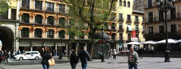 Plaza de Zocodover is one of Spain!.