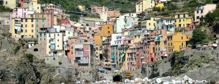 Marina di Riomaggiore is one of Bella Italia.