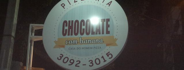 Pizzaria Chocolate com Banana is one of Dani 님이 저장한 장소.