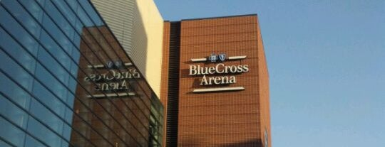 Blue Cross Arena at the War Memorial is one of sports arenas and stadiums.