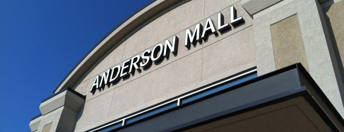 Anderson Mall is one of Lugares guardados de Joshua.