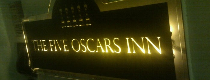 The Five Oscars Inn Rome is one of Tempat yang Disukai Gurkan.