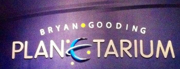 Bryan Gooding Planetarium is one of Planetarium Pilgrimages.