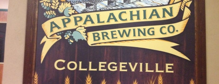 Appalachian Brewing Company is one of Tempat yang Disimpan Glen.