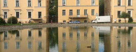 Круглый пруд is one of Интересный Питер.
