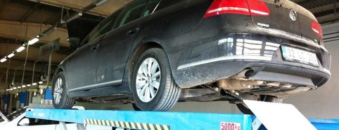 Volkswagen - Başaran is one of barış : понравившиеся места.