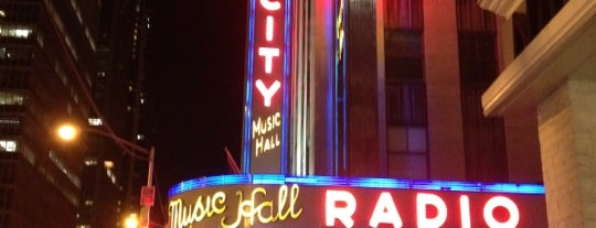 Radio City Music Hall is one of NYC greatest venues.