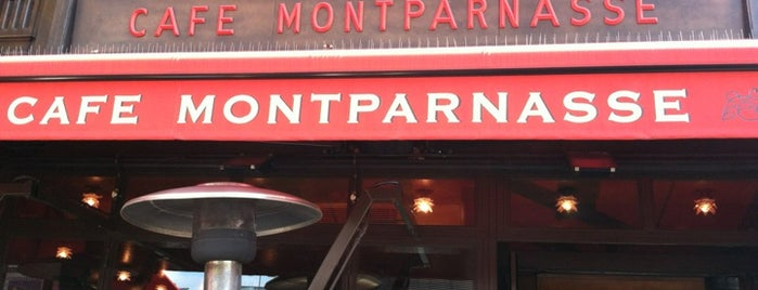 Café Montparnasse is one of Paris Spots.
