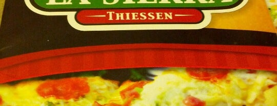 Pizzeria La Sierra Thiessen is one of ᴡさんのお気に入りスポット.