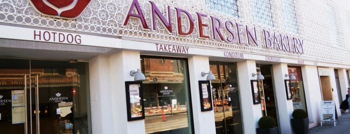 Andersen Bakery is one of Estocolm, Goteborg, Copenhagen (hi varem halar).