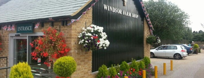Windsor Farm Shop is one of Orte, die Carl gefallen.