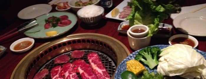 Yakiniku West is one of with Hana.