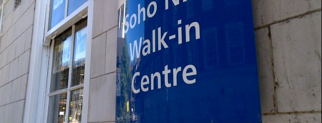 Soho NHS Walk In Centre is one of Locais curtidos por Barry.