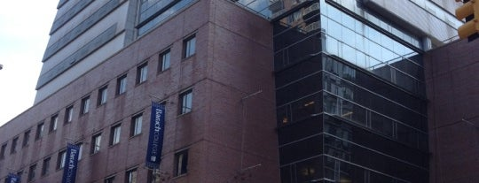 Baruch College - William and Anita Newman Vertical Campus is one of Guide to New York's best spots.