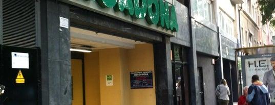 Mercadona is one of Barcelona.