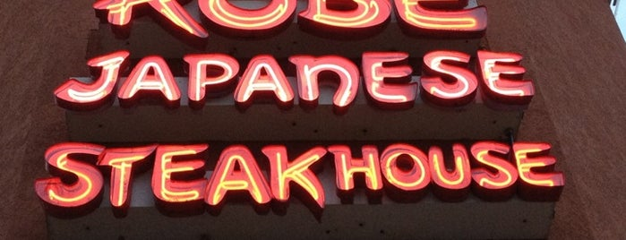 Kobe Japanese Steakhouse & Sushi Bar is one of Star Wars Celebration VI.