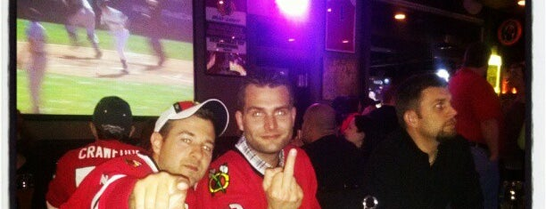 Another Round Bar & Grill is one of Official Blackhawks Bars.